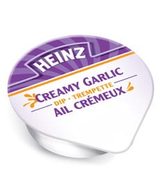 Creamy garlic
